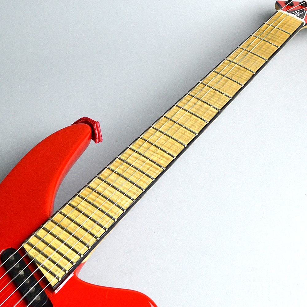 PHIL COLLEN ARCHTOP RED【USED】の指板画像