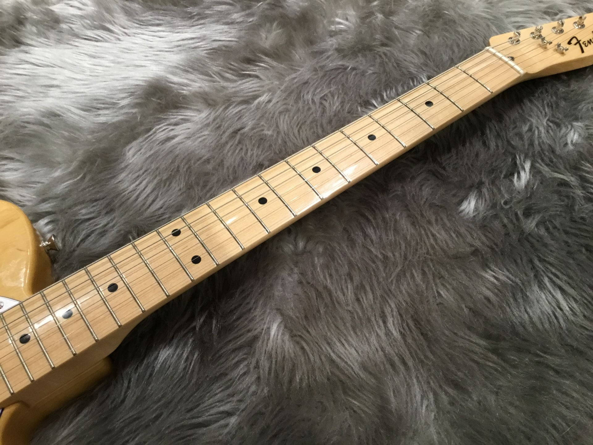 Fender Japan Exclusive Classic 70s Telecaster Thinlineの指板画像
