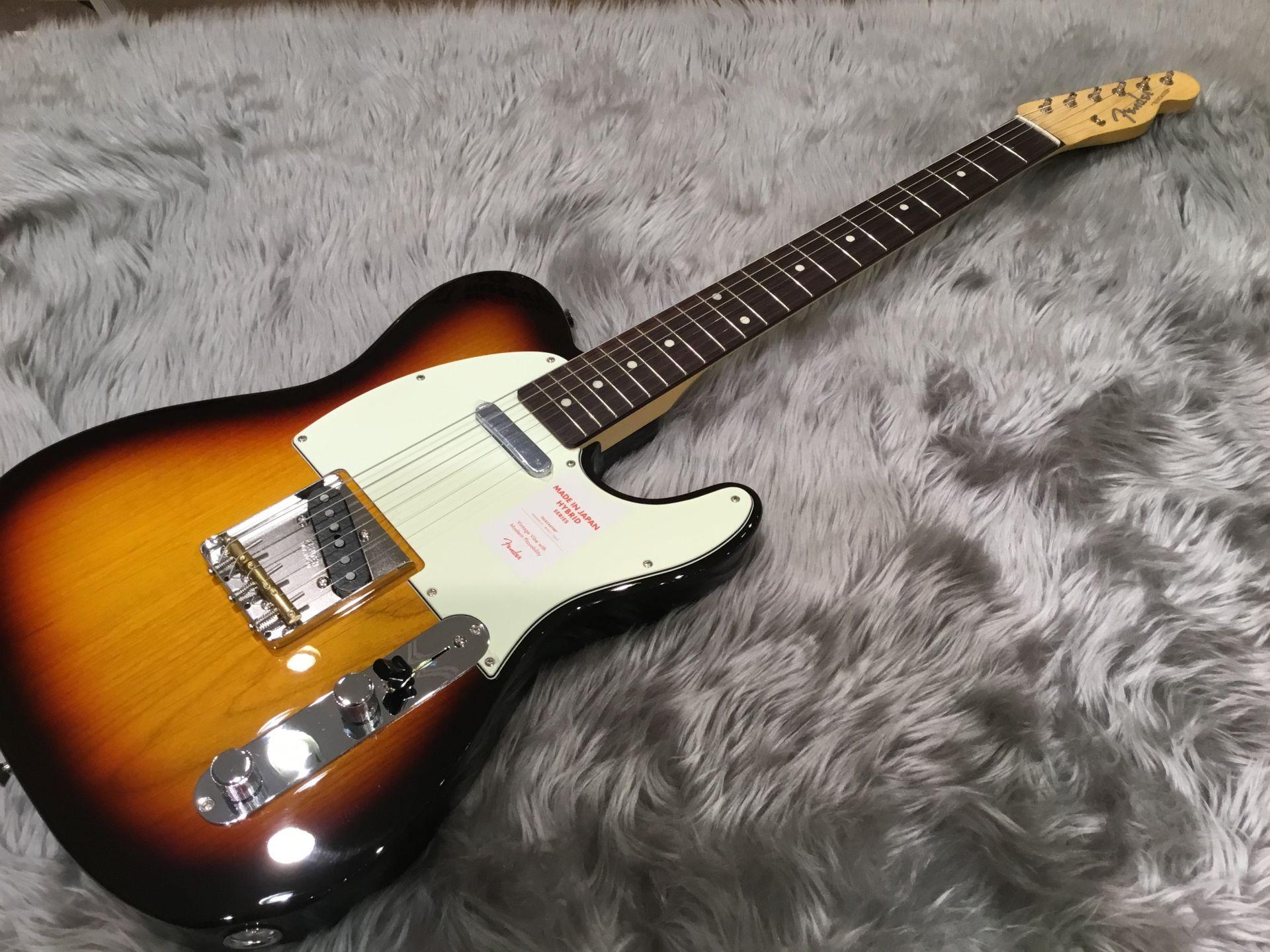Fender  Hybrid 60s Telecaster 3 Color Sunburst 写真画像