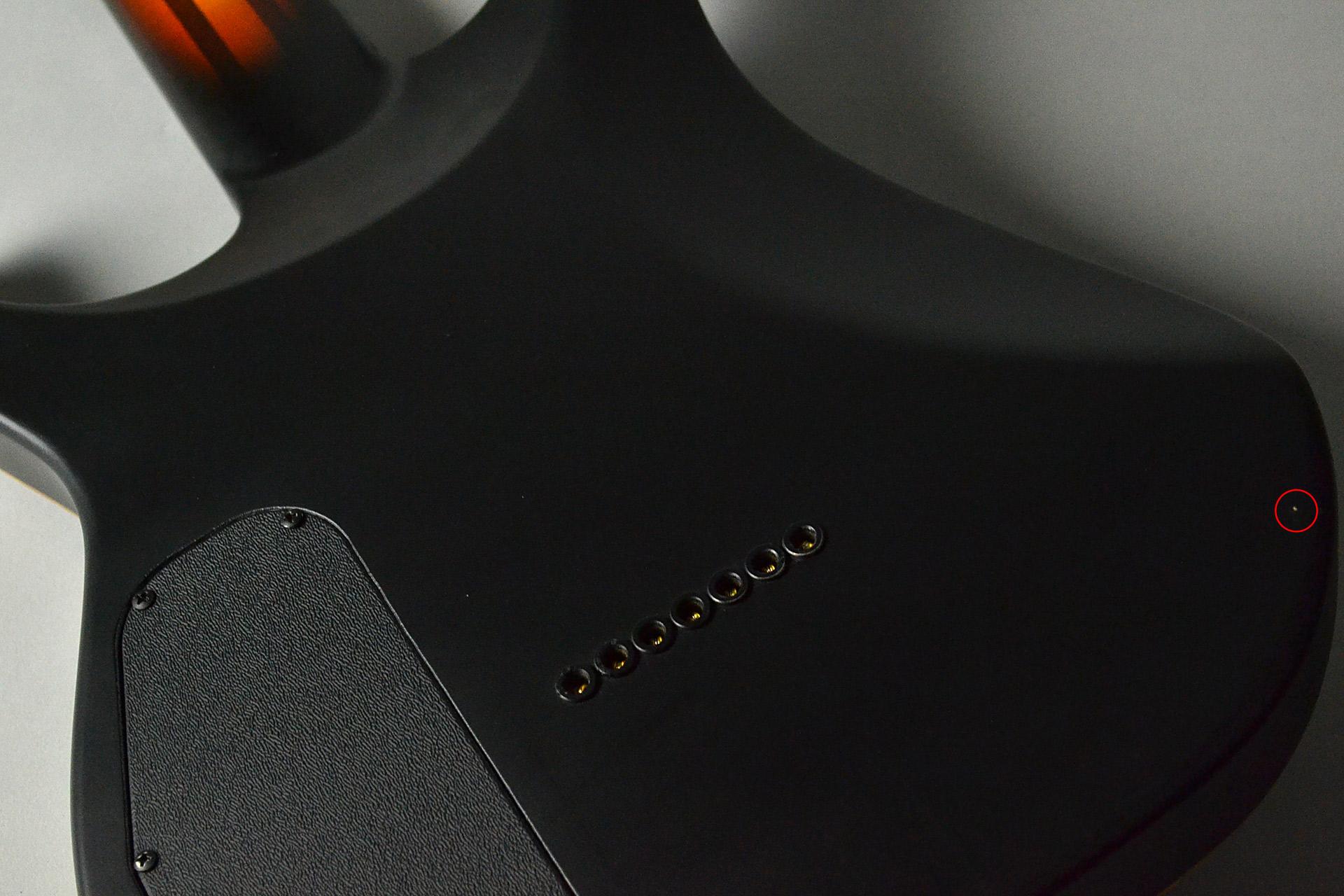 Cobra SPL7 HT/T FCM 4CS Flame Crotch Maple【リペア済み品・大特価】のボディバック-アップ画像