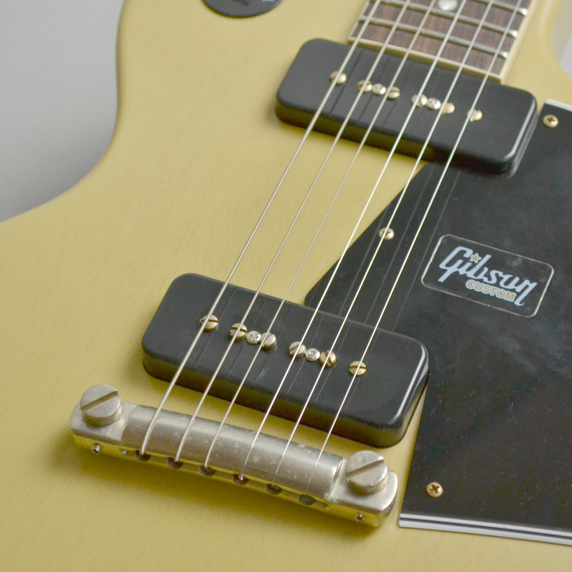 1960 Les Paul Special SC VOS TVYのボディバック-アップ画像