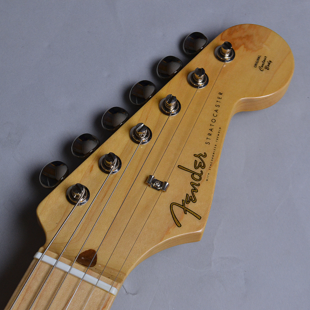 Made In Japan Hybrid 50s Stratcaster / US Blondのヘッド画像