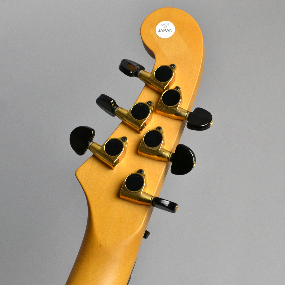 PENTAGONE Guitar 6stのヘッド裏-アップ画像