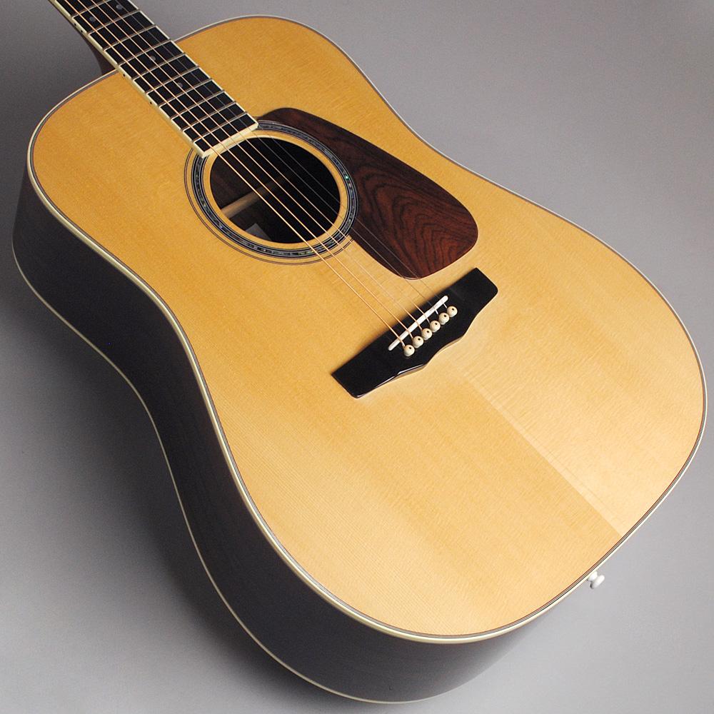 MORRIS M-101SP/NAT アコースティックギター 【モーリス 限定モデル】【ビビット南船橋店】【アウトレット】のボディトップ-アップ画像