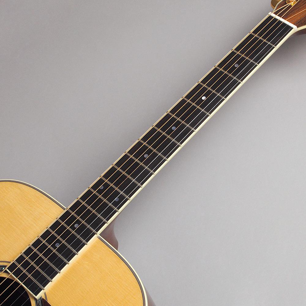 MORRIS M-101SP/NAT アコースティックギター 【モーリス 限定モデル】【ビビット南船橋店】【アウトレット】の指板画像