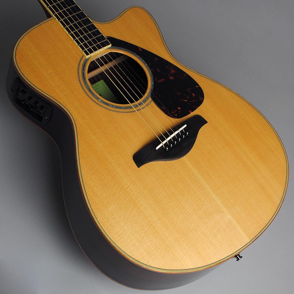 YAMAHA FSX875C NT エレアコギター 【ヤマハ 島村楽器限定モデル】【ビビット南船橋店】【アウトレット】のボディトップ-アップ画像
