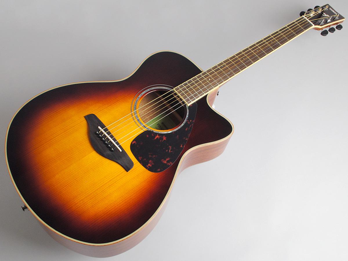 YAMAHA FSX825C BS エレアコギター 【ヤマハ 島村楽器限定モデル】【ビビット南船橋店】【アウトレット】