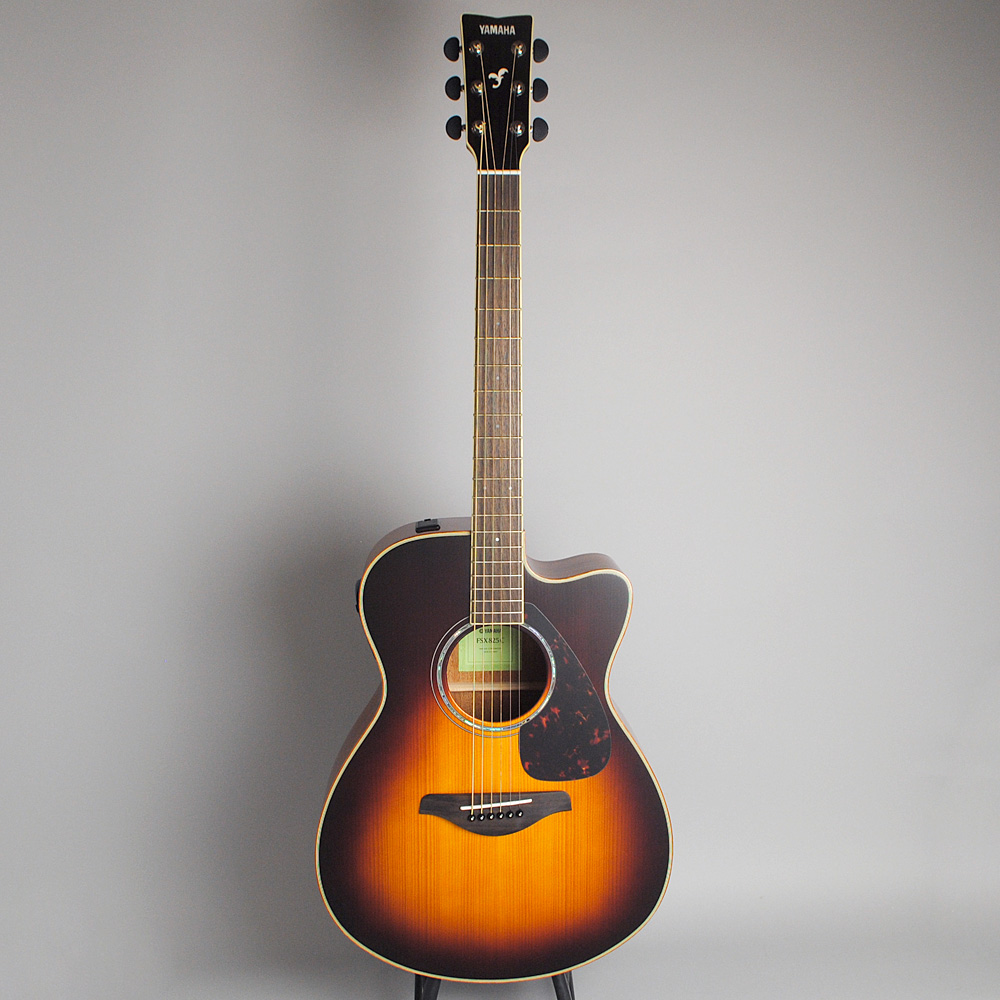 YAMAHA FSX825C BS エレアコギター 【ヤマハ 島村楽器限定モデル】【ビビット南船橋店】【アウトレット】の全体画像(縦)