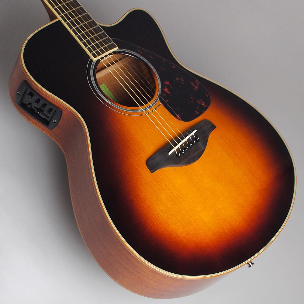 YAMAHA FSX825C BS エレアコギター 【ヤマハ 島村楽器限定モデル】【ビビット南船橋店】【アウトレット】のボディトップ-アップ画像