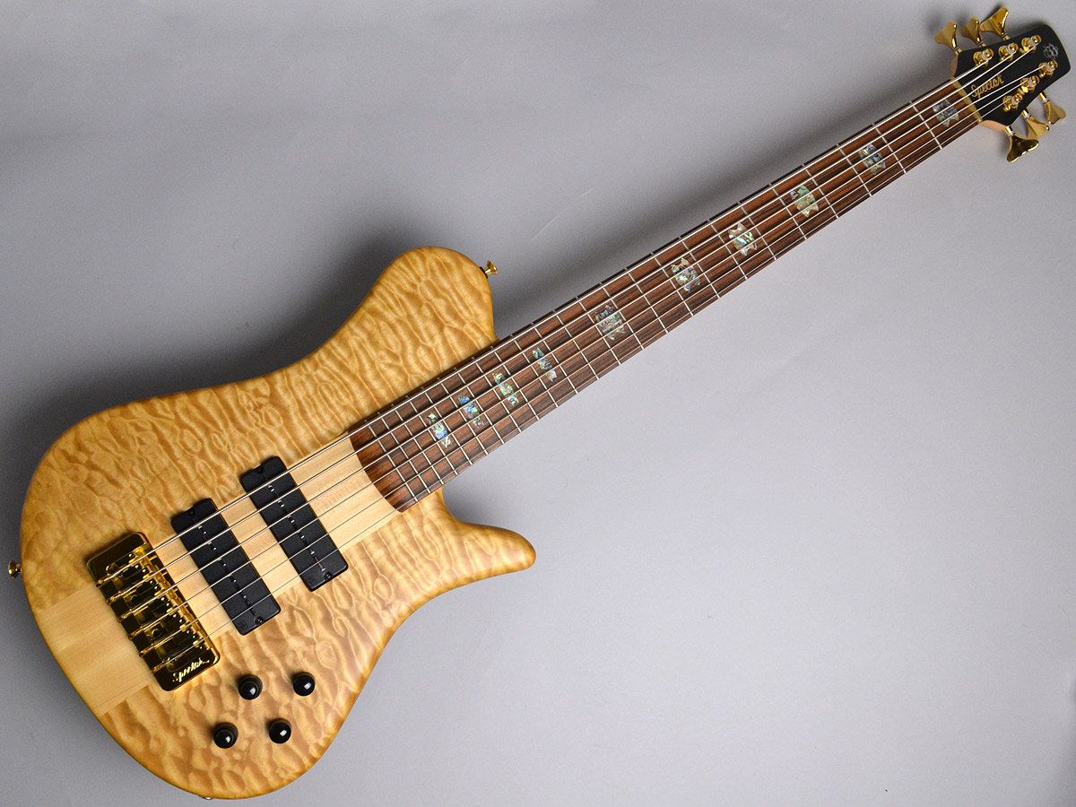USA NS6XL SC 5A Quilted Maple Top