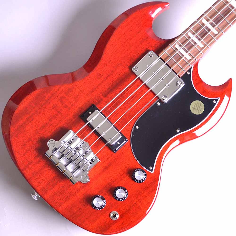 2018 Gibson SG Bassのボディトップ-アップ画像