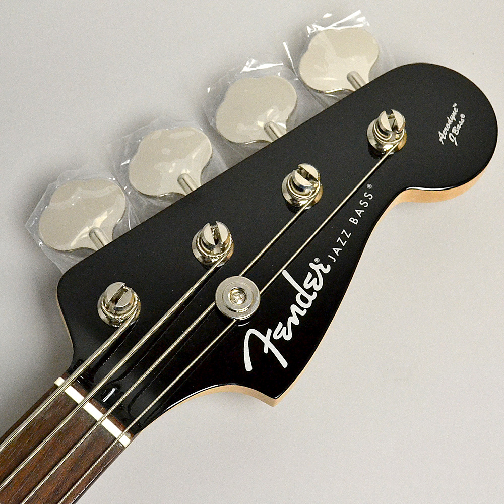 AERODYNE JAZZ BASS Blackのヘッド画像