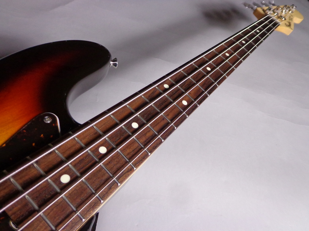 MADE IN JAPAN HYBRID 60S JAZZ BASSの指板画像