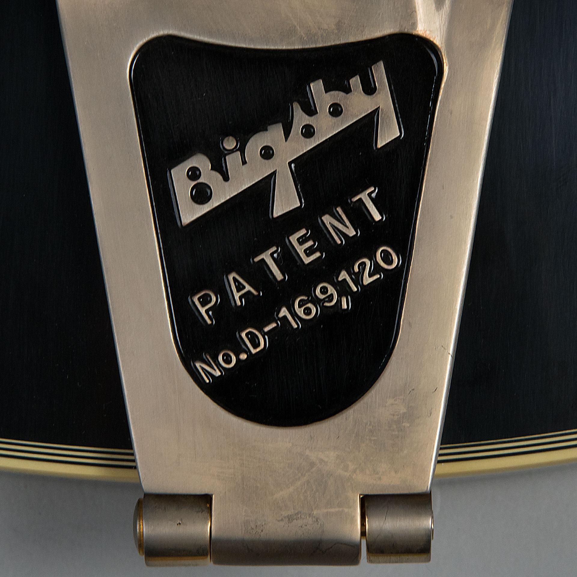 ES 335 Ebony Bigsby VOSの指板画像