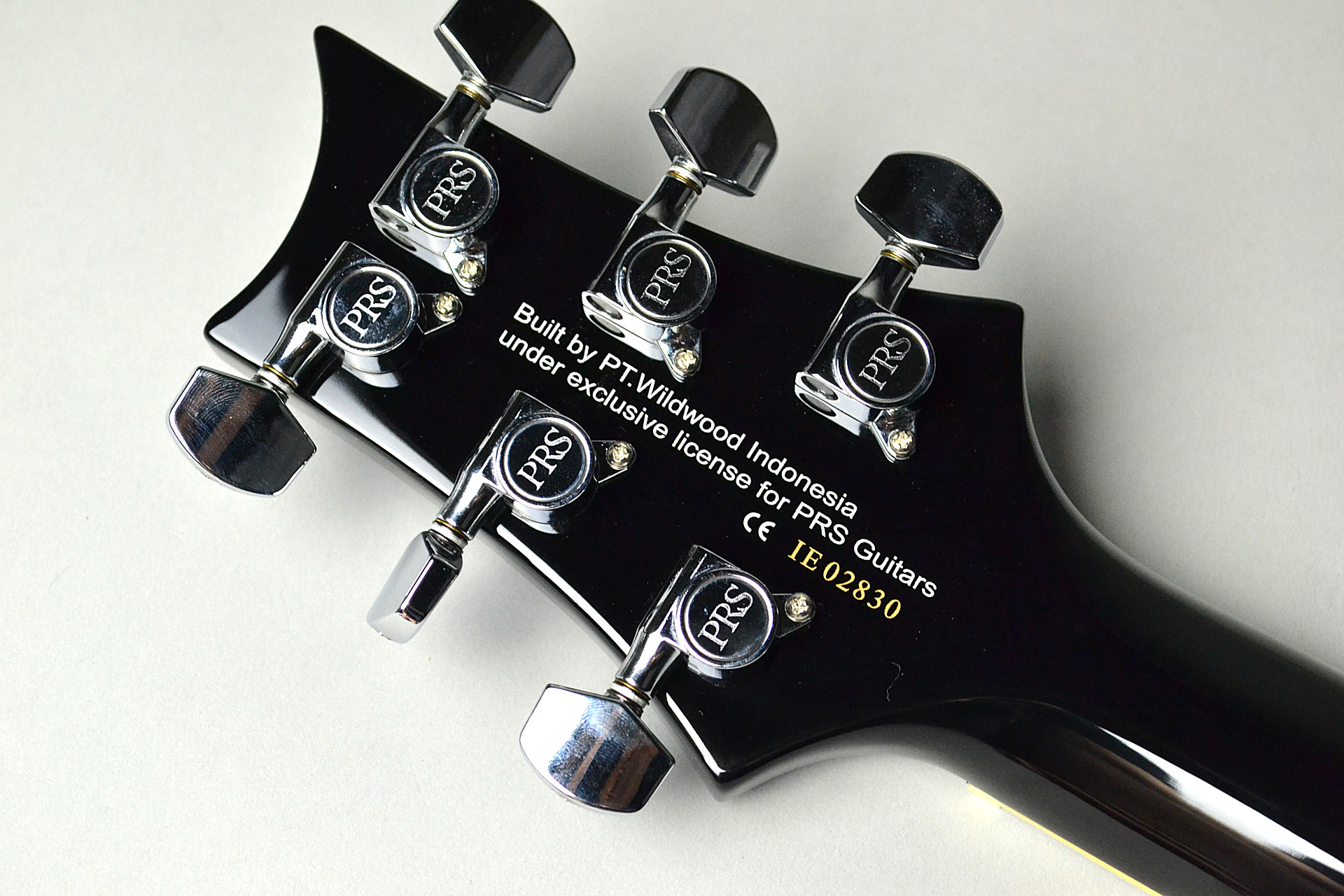 SE Standard Mark Tremonti Blackのヘッド裏-アップ画像