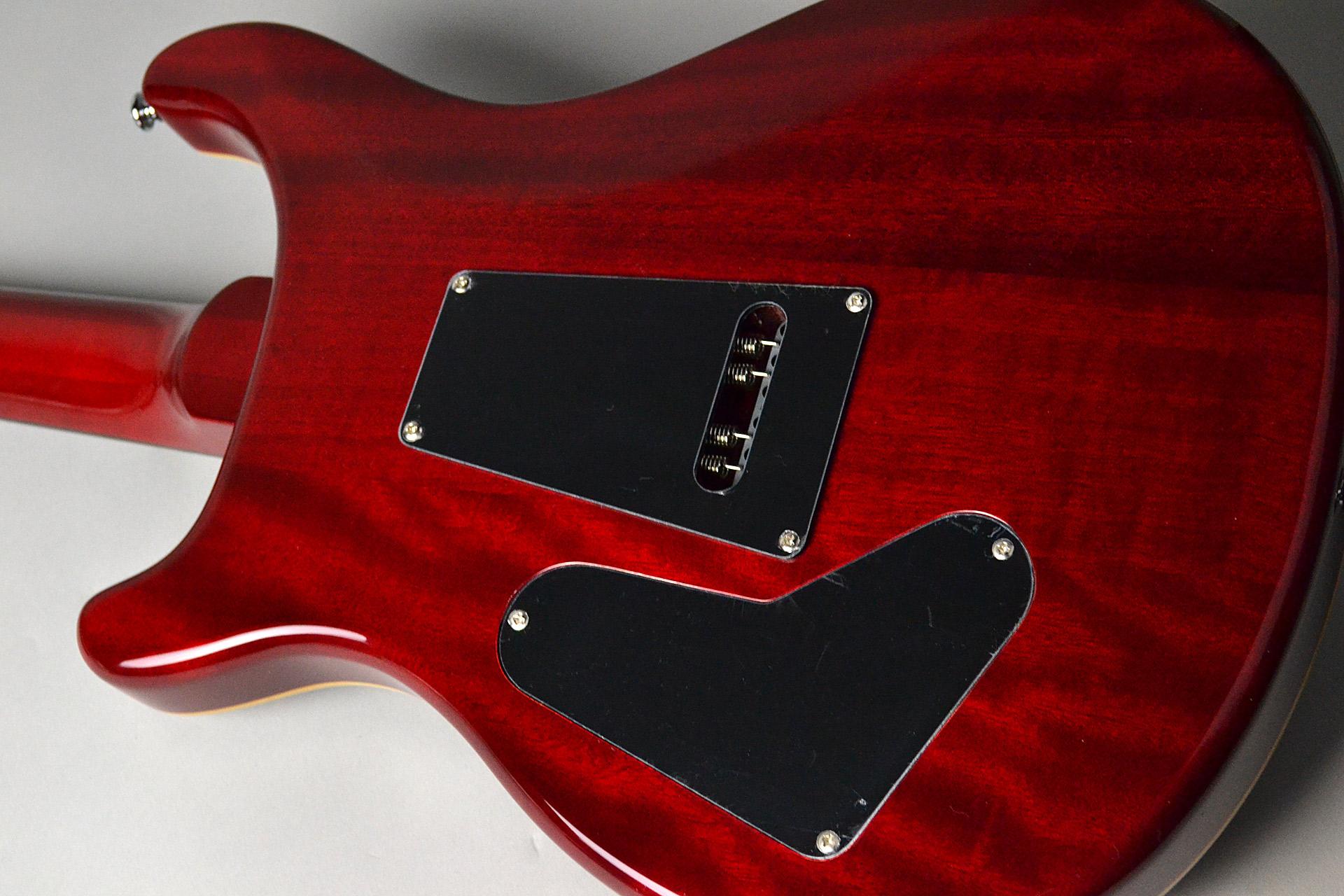SE Custom 24 N/ BC Black Cherryのボディバック-アップ画像