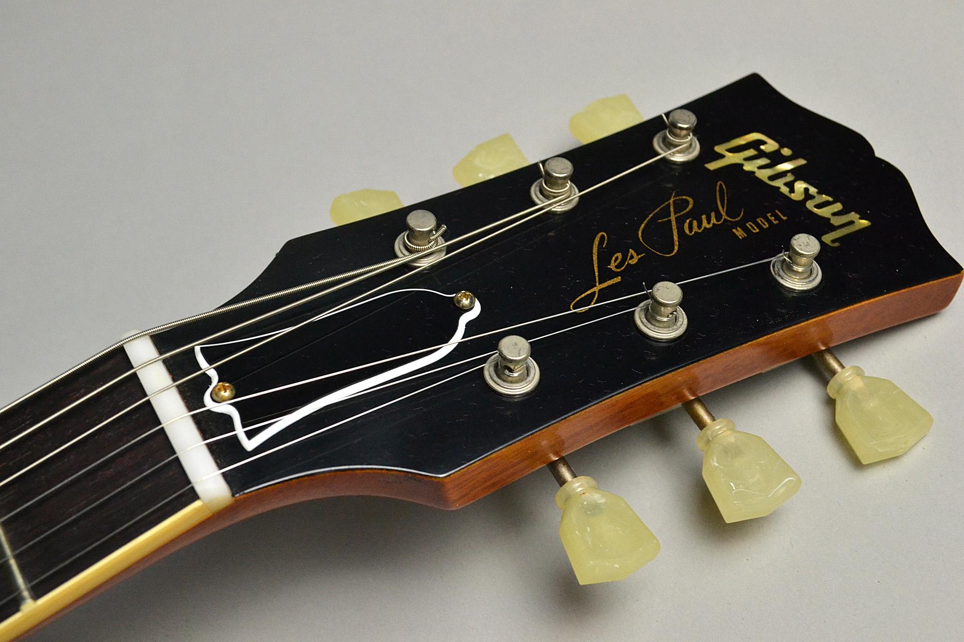 2017 Limited Run 1957 Les Paul Model Antique Goldのヘッド画像