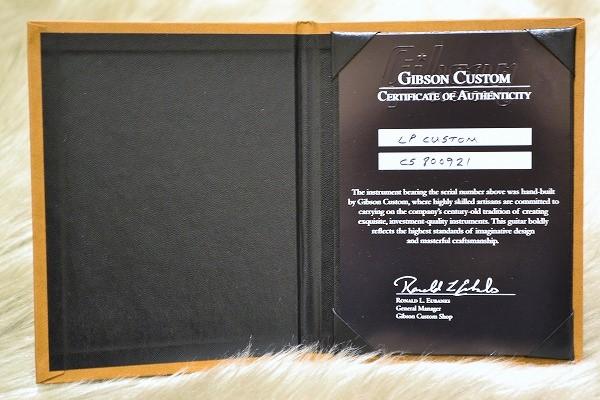 Les Paul Custom Ebony GHのケース・その他画像