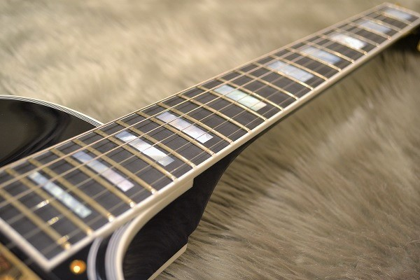 Les Paul Custom Ebony GHの指板画像