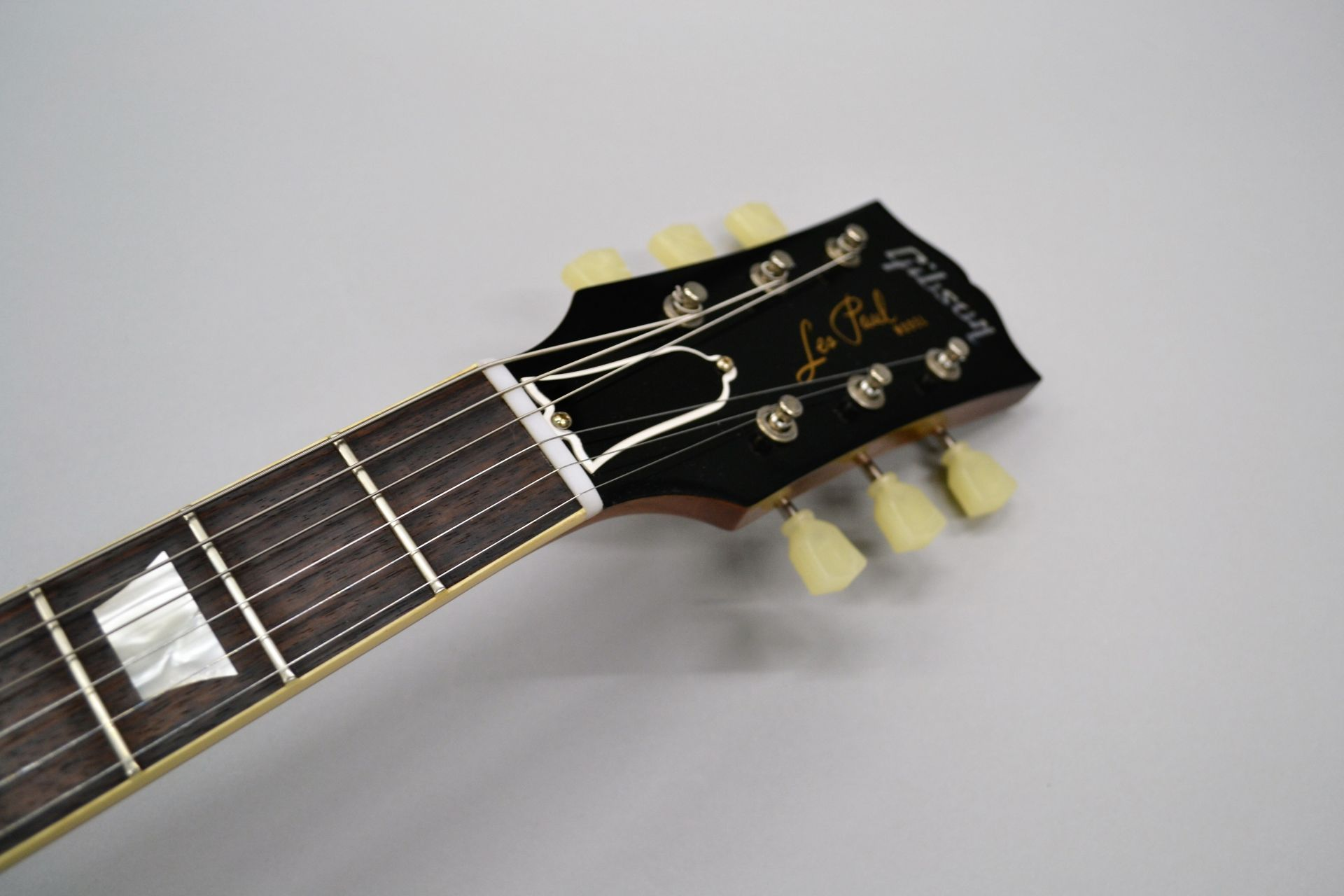 1958 Les Paul HardRock Maple VOS 2017 Limited Run Dirty Lemonのヘッド画像