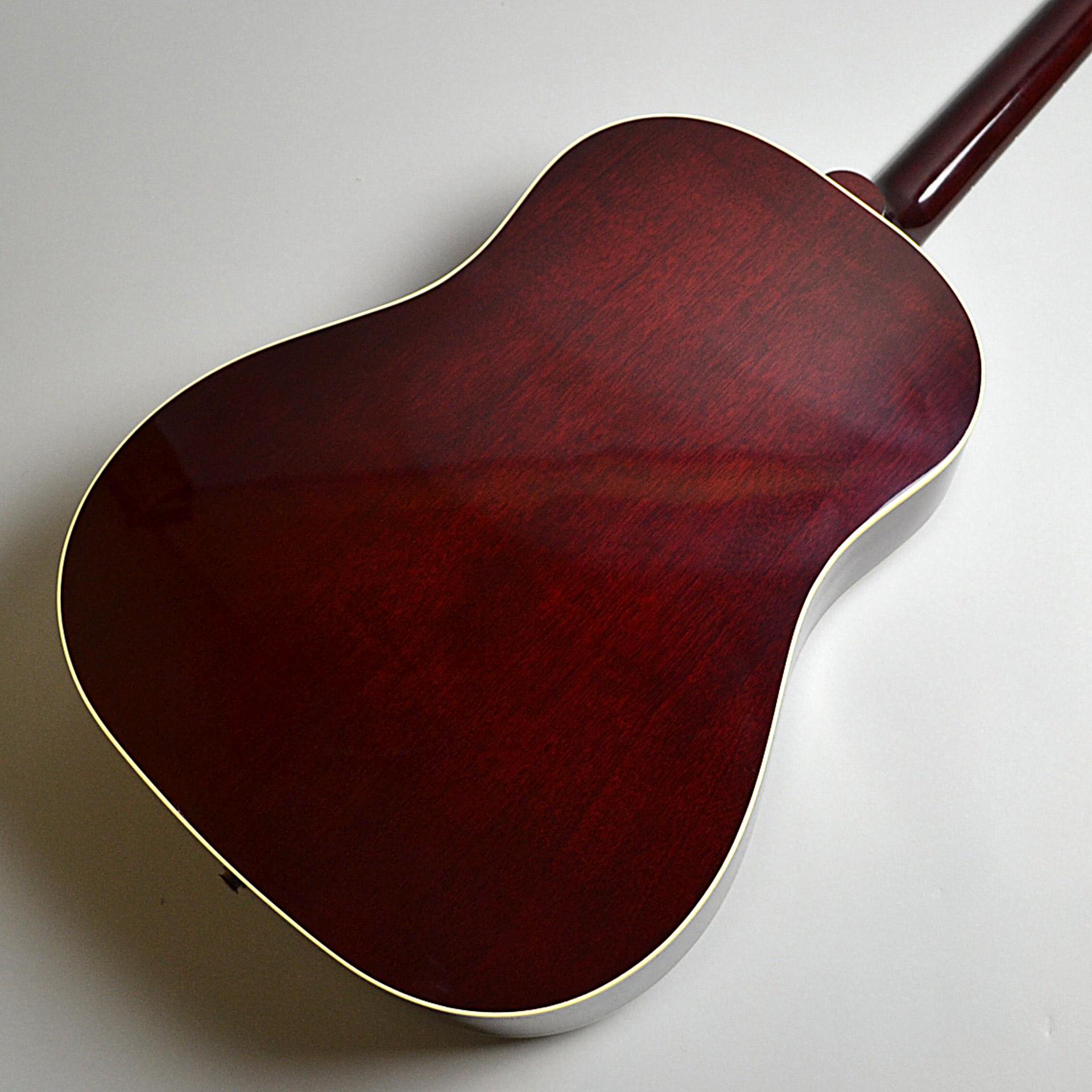 1960s J-45 WINE REDのボディバック-アップ画像