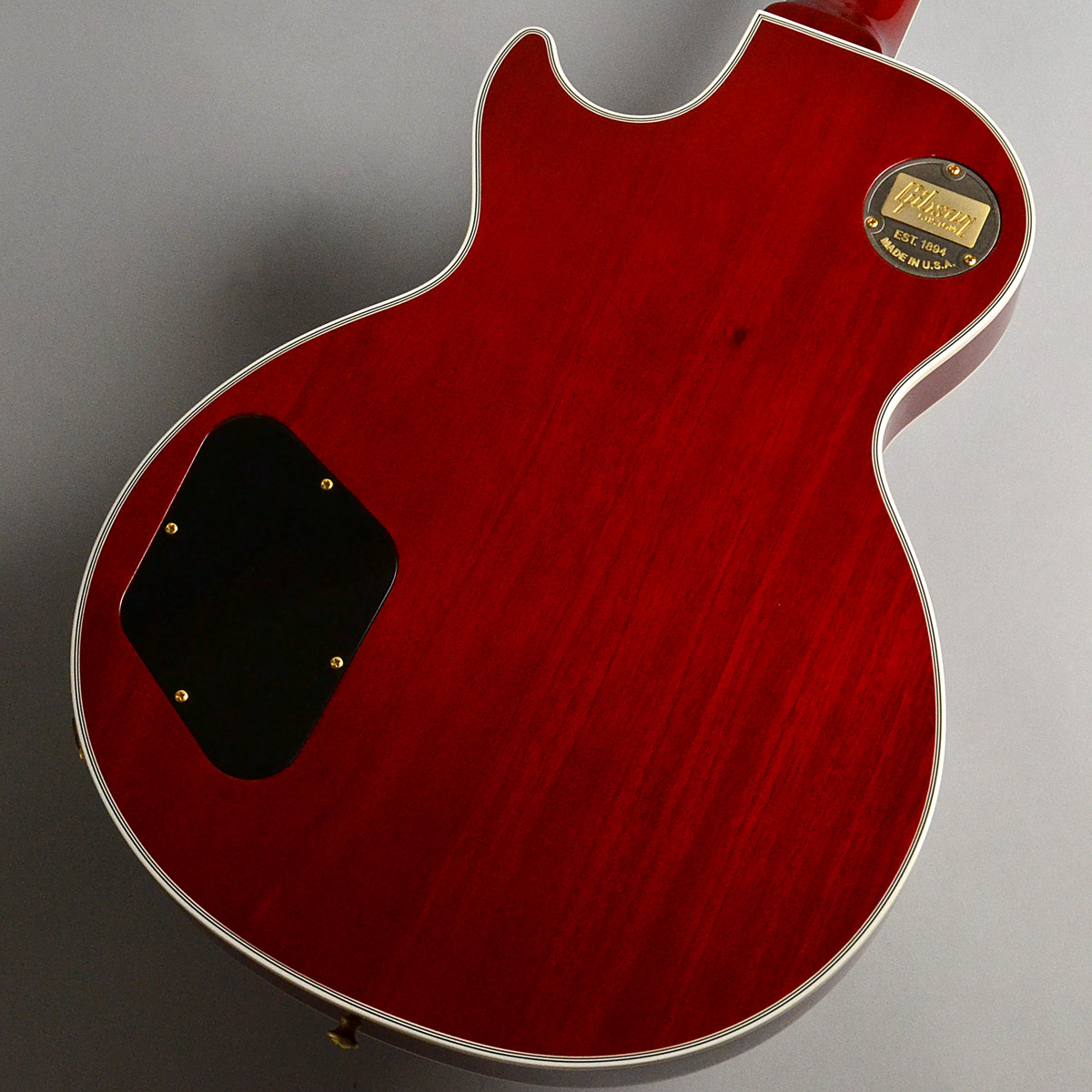 Les Paul Custom Wine Redのボディバック-アップ画像
