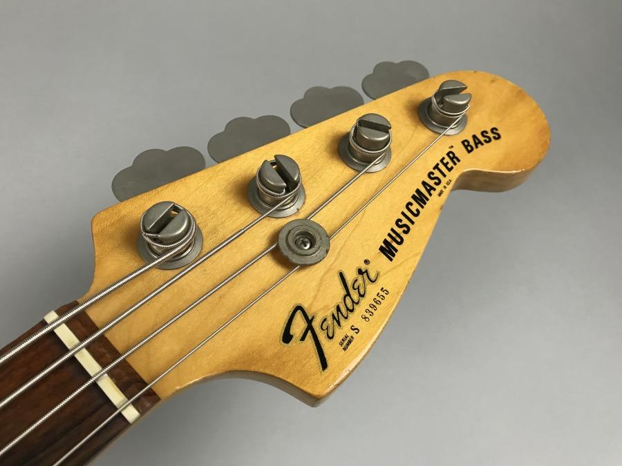 MusicMaster Bassのヘッド画像