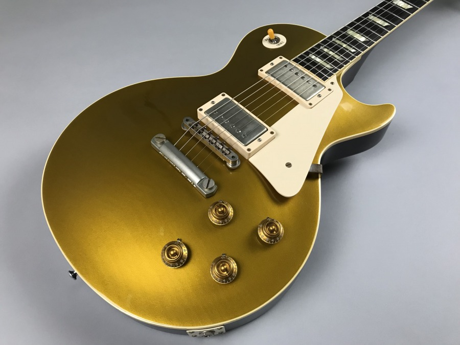 Historic Collection 1957 Les Paul Standard Gold Topのボディトップ-アップ画像