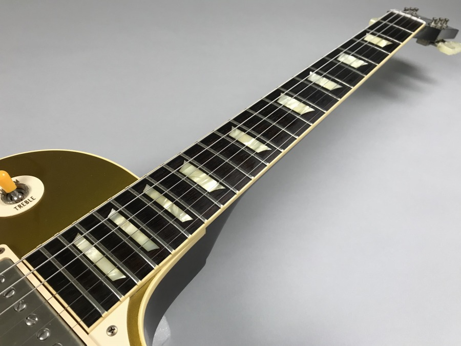 Historic Collection 1957 Les Paul Standard Gold Topの指板画像