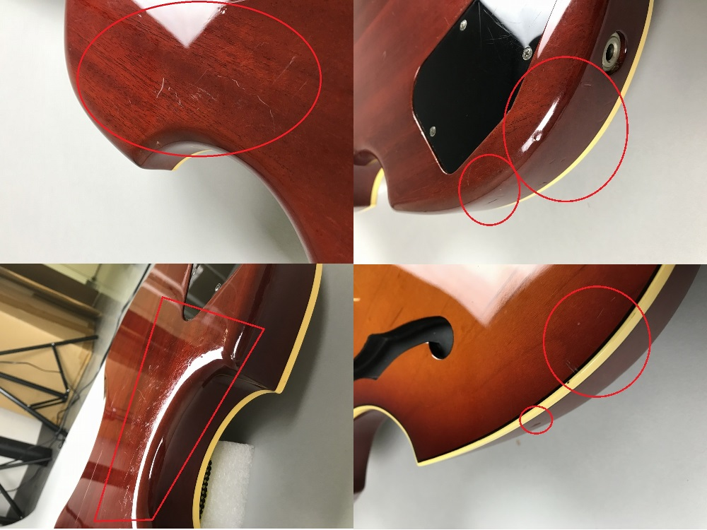 VG-STD ASUKA【飛鳥モデル】の指板画像