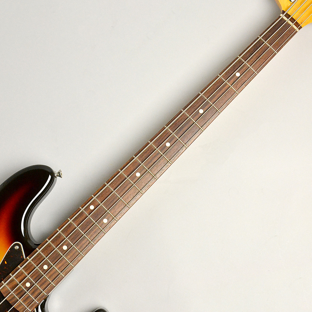 MADE IN JAPAN TRADITIONAL 60S JAZZ BASS 3-Color Sunburstの指板画像