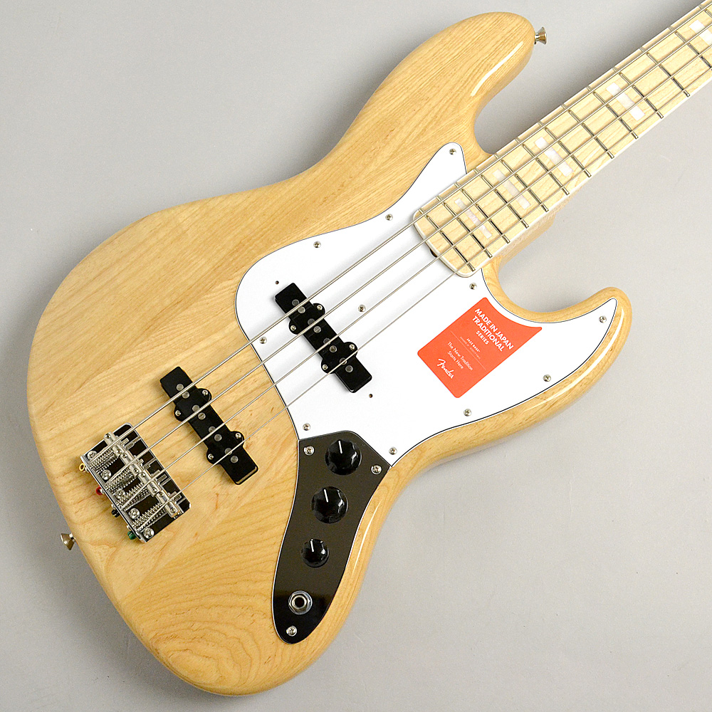 MADE IN JAPAN TRADITIONAL 70S JAZZ BASS Naturalのボディトップ-アップ画像