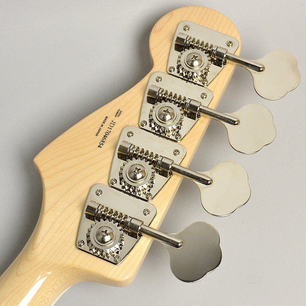 MADE IN JAPAN TRADITIONAL 70S JAZZ BASS Naturalのヘッド裏-アップ画像