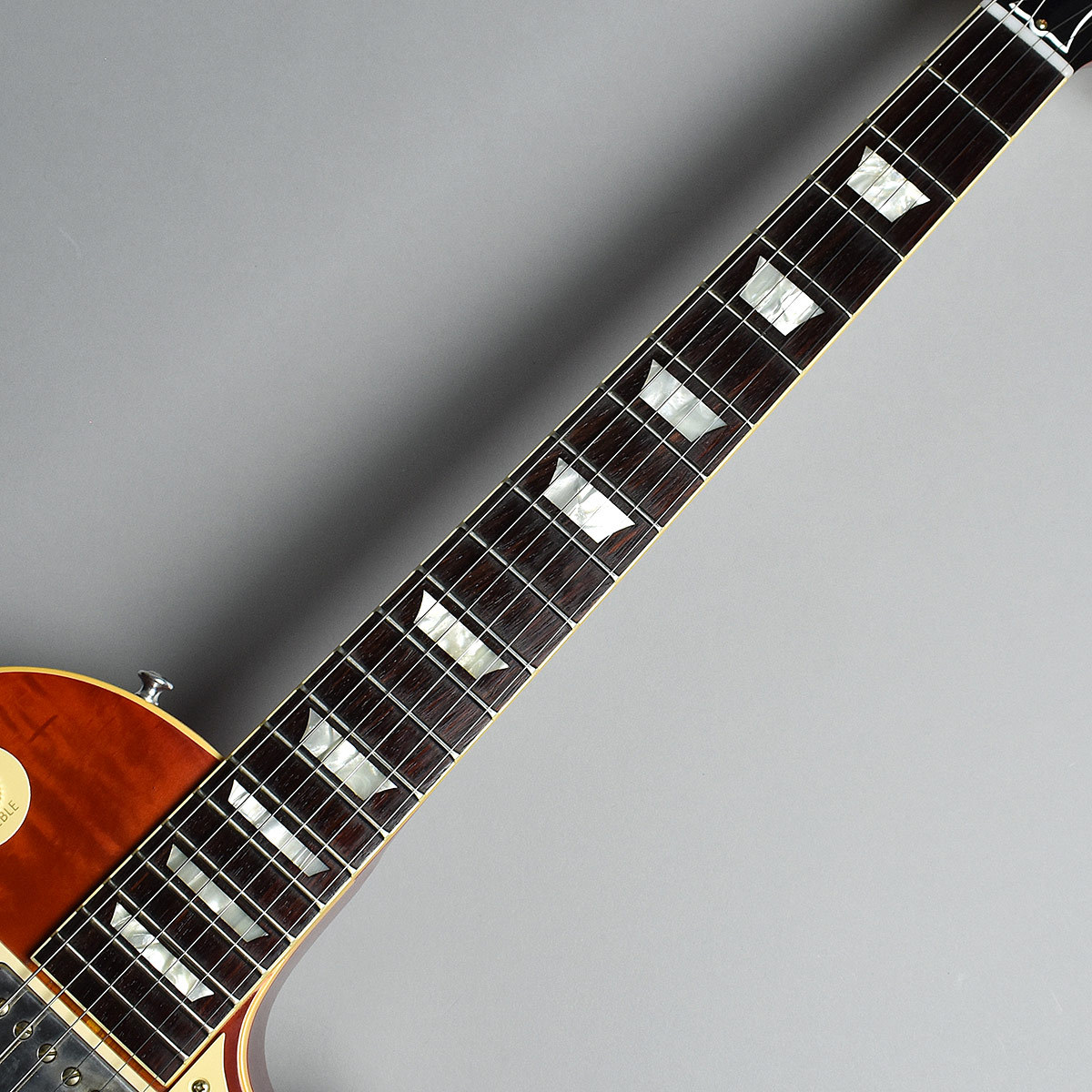 True Historic 1959 Les Paul Standard M2Mの指板画像