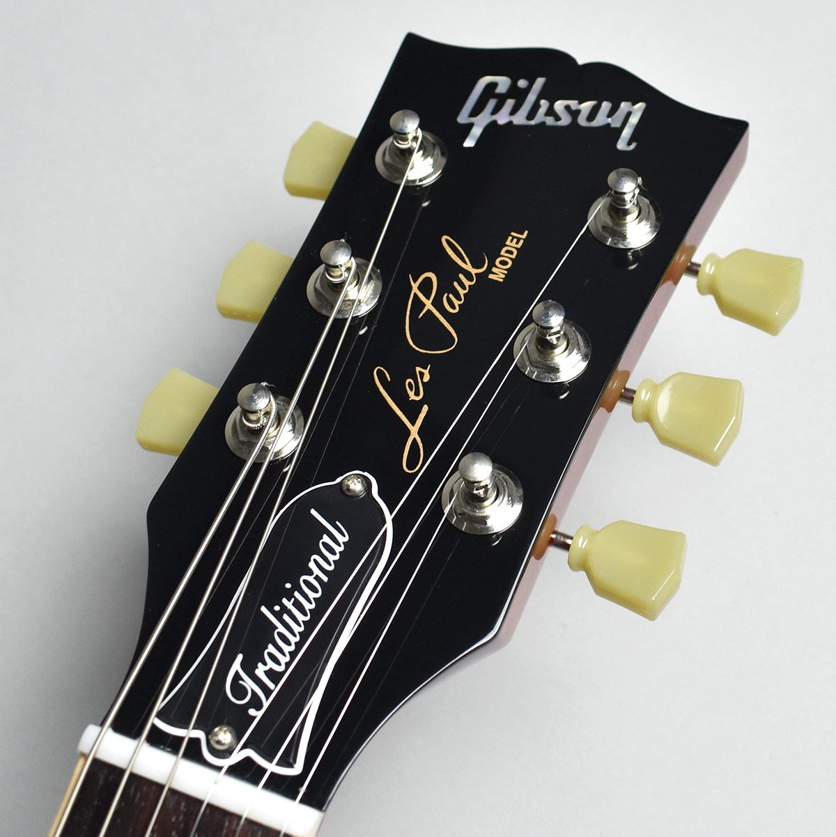 Les Paul Traditional Plus Quilt 2017 Limitedのヘッド画像