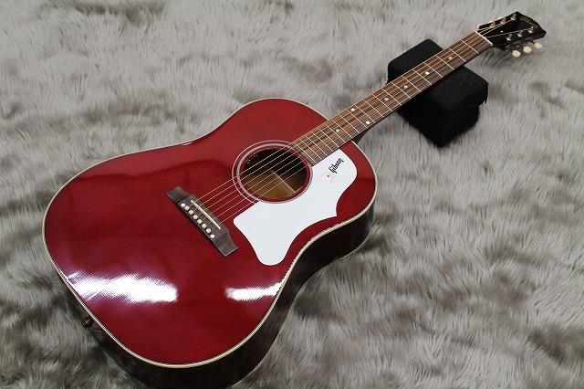 Gibson  1960s J-45 WINE RED 写真画像