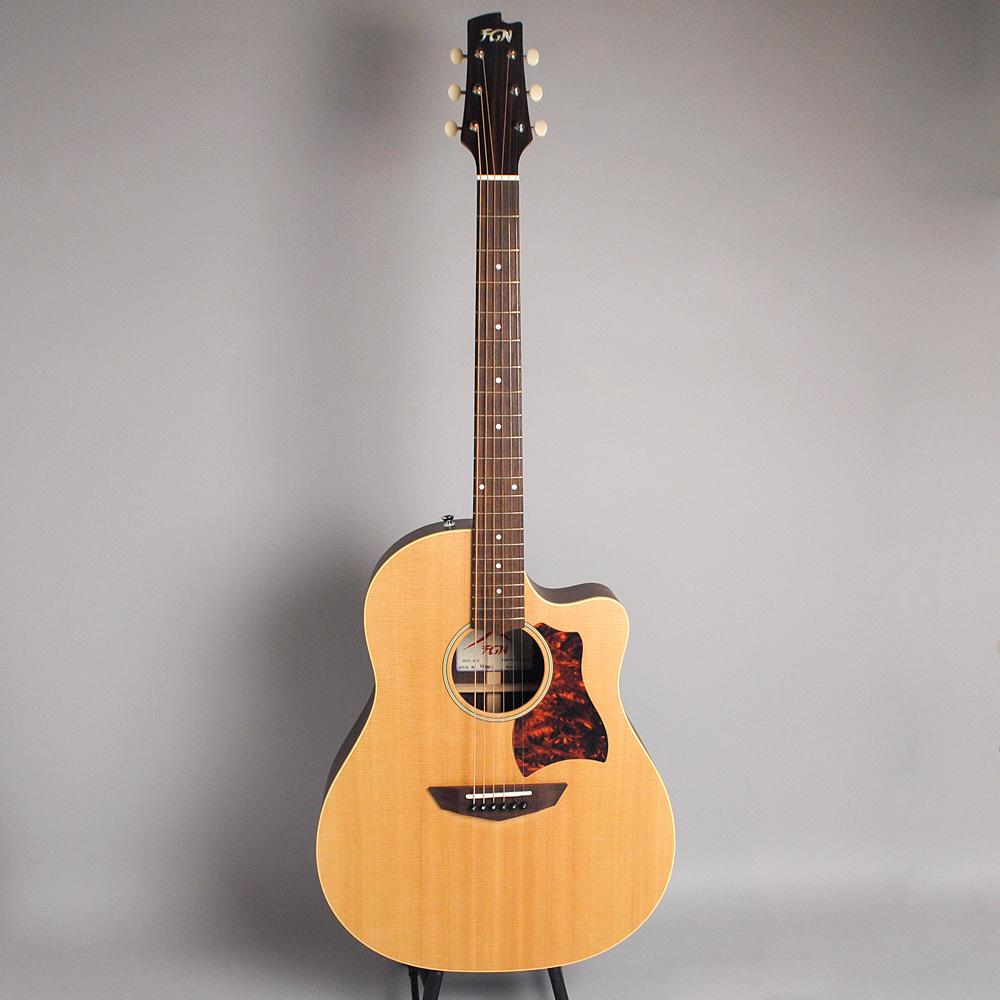FUJIGEN AG-2/Natural Flat アコースティックギター 【フジゲン】【ビビット南船橋店】【アウトレット】の全体画像(縦)