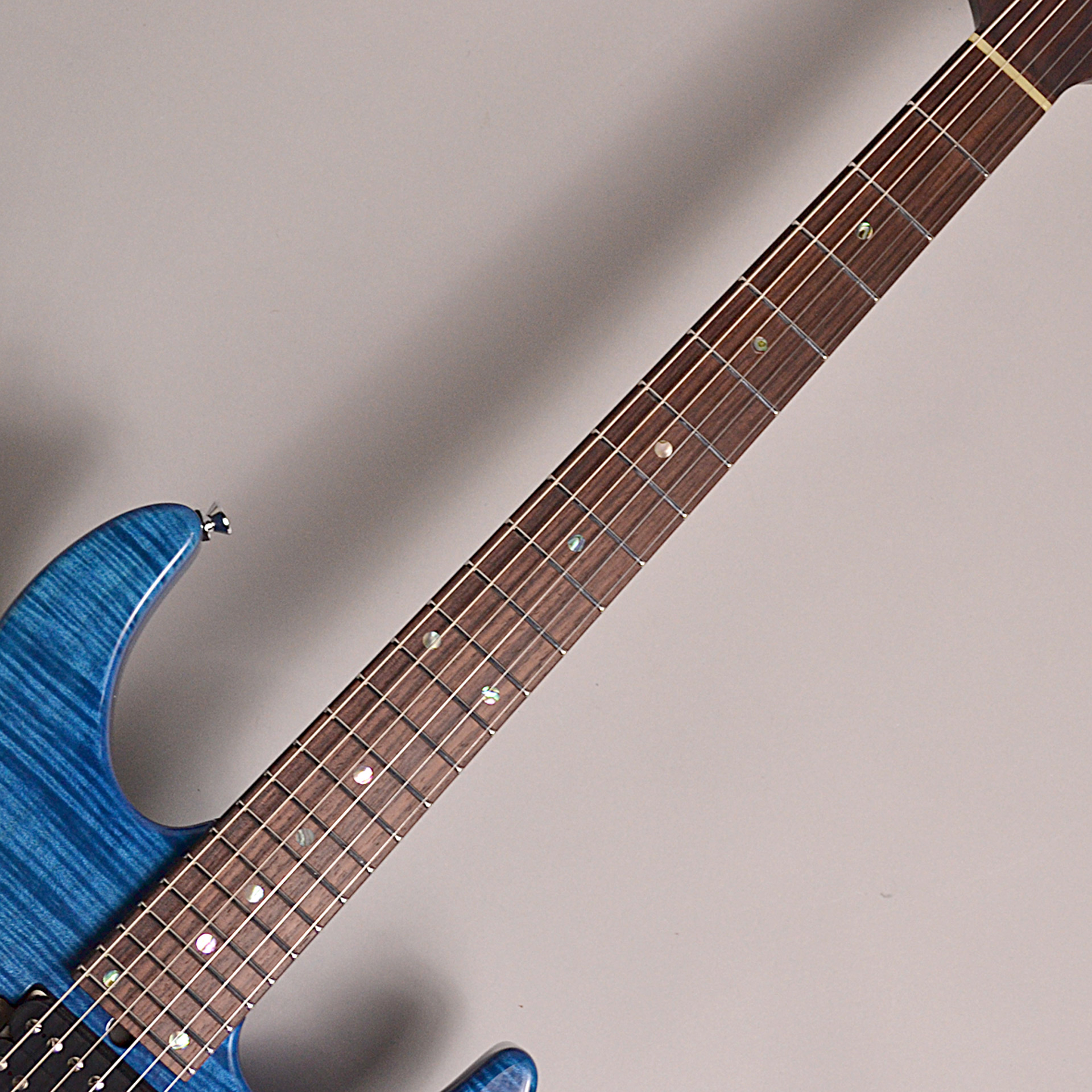 T's Guitars DST24 Custom Made Arctic Blue#T3の指板画像