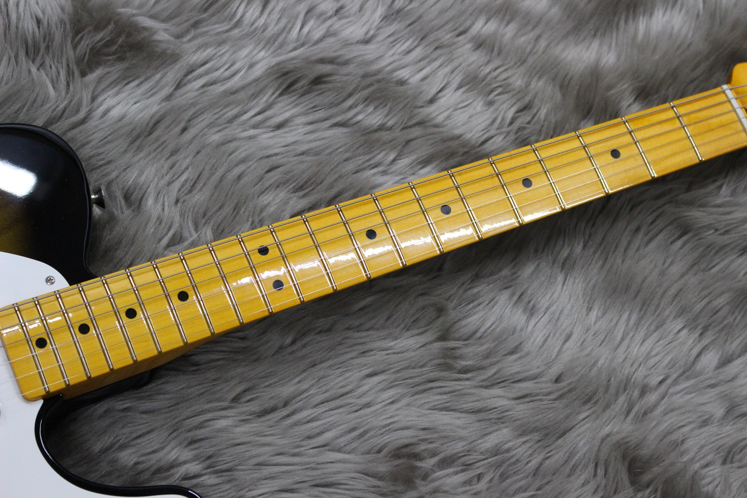50S TELE LACQUER MNの指板画像