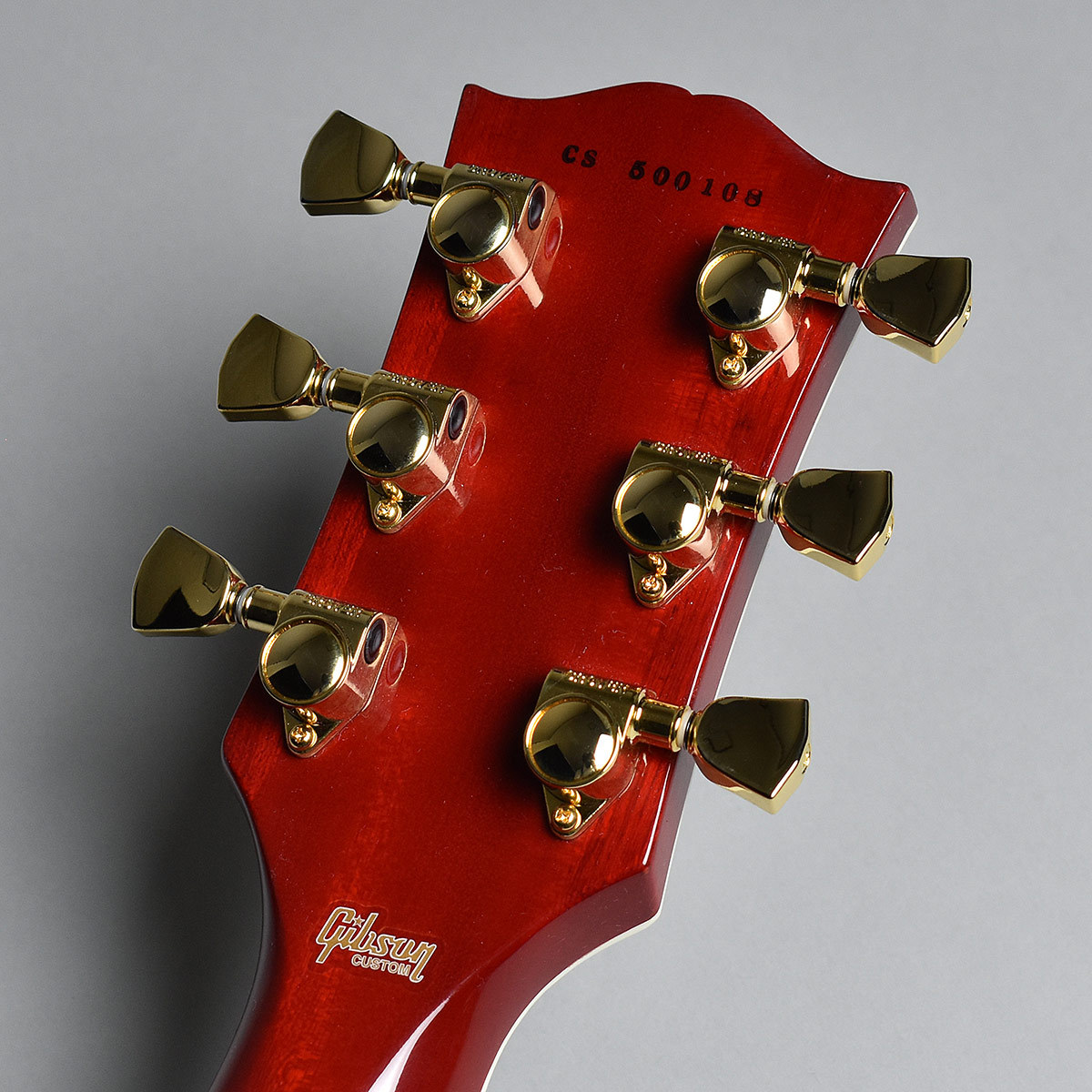 Les Paul Custom Wine Redの指板画像