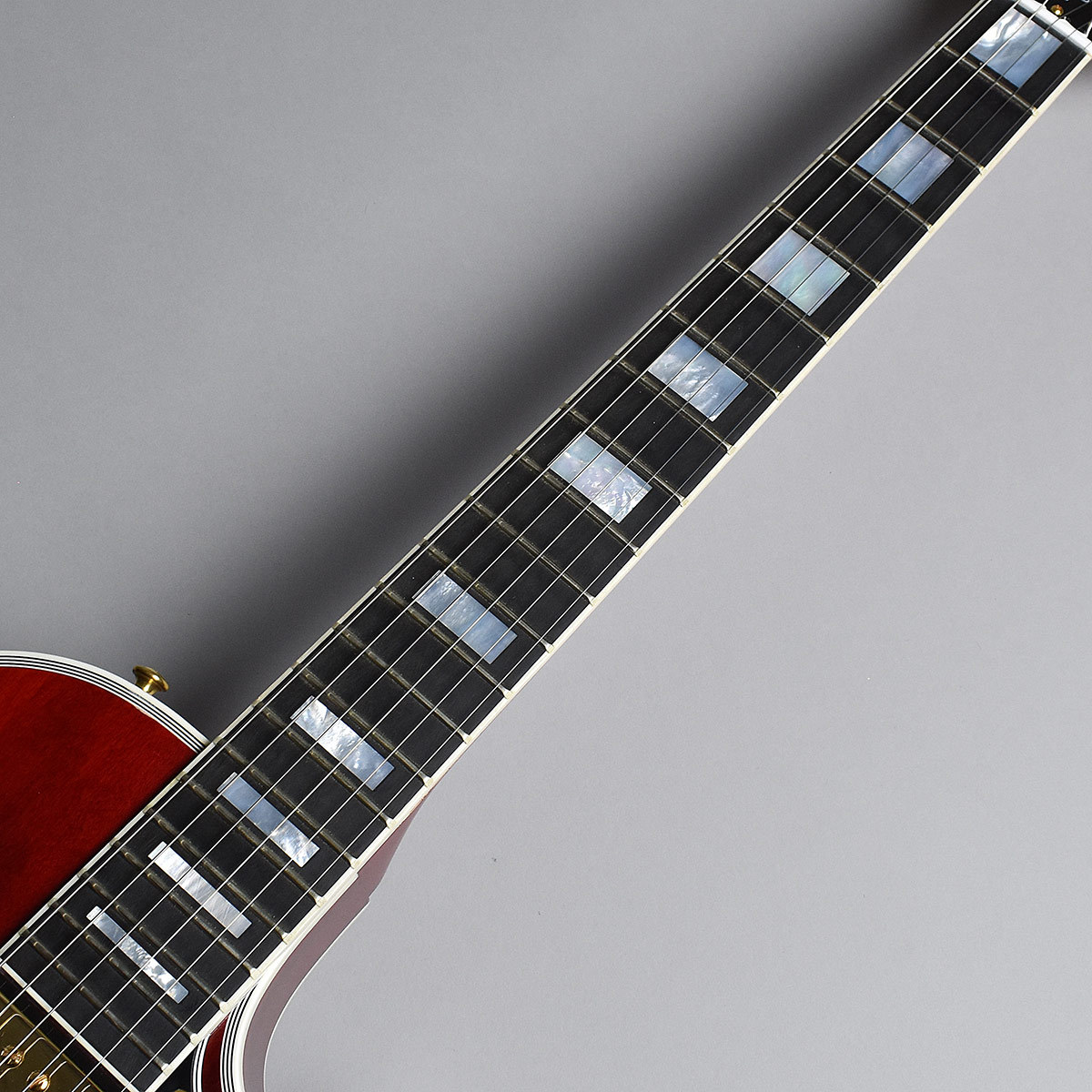 Les Paul Custom Wine Redのヘッド裏-アップ画像