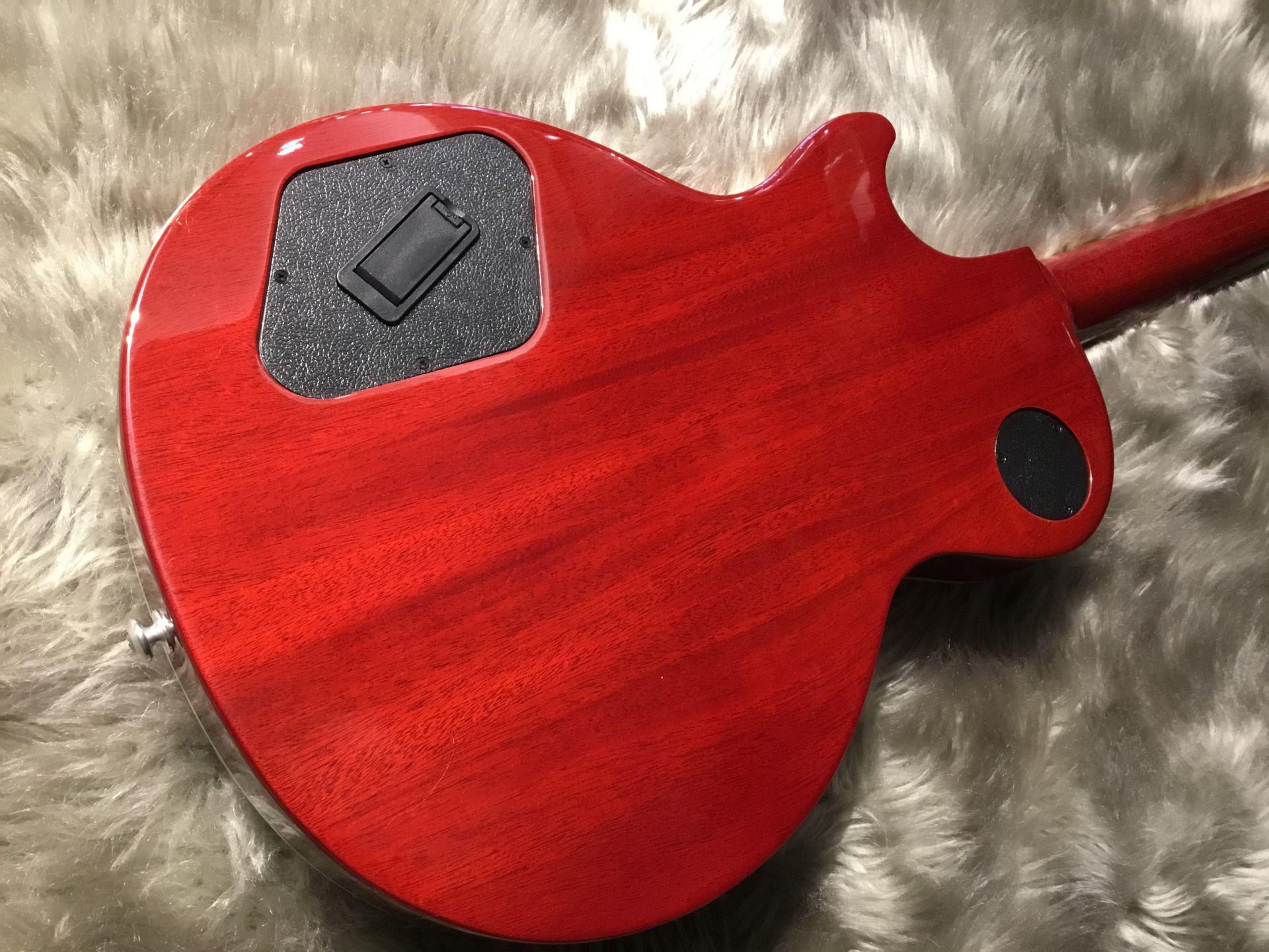 LP Traditional PLUS(Heritage Cherry Sunburst)のボディバック-アップ画像