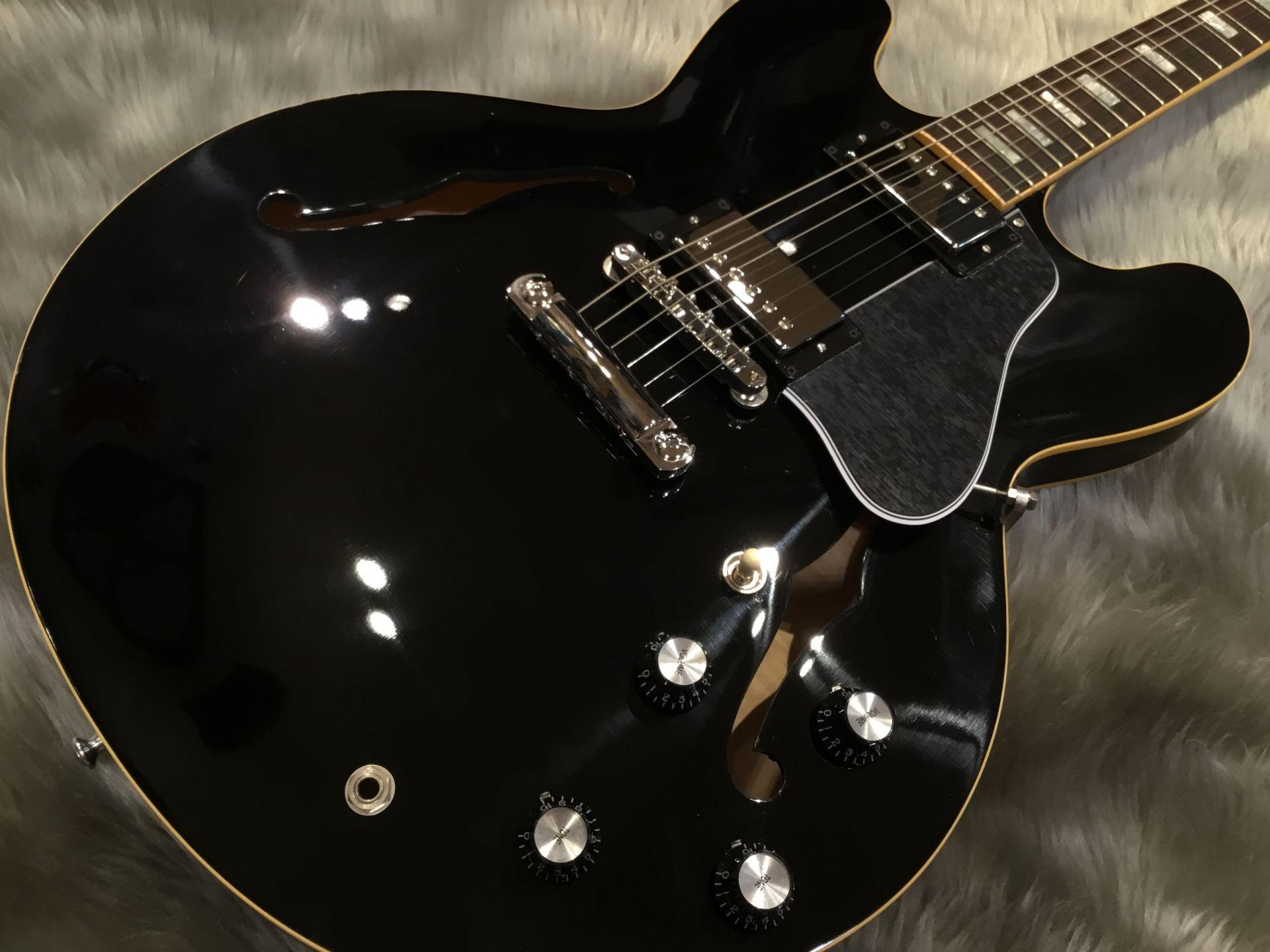 ES-335 TRADITIONALのボディトップ-アップ画像