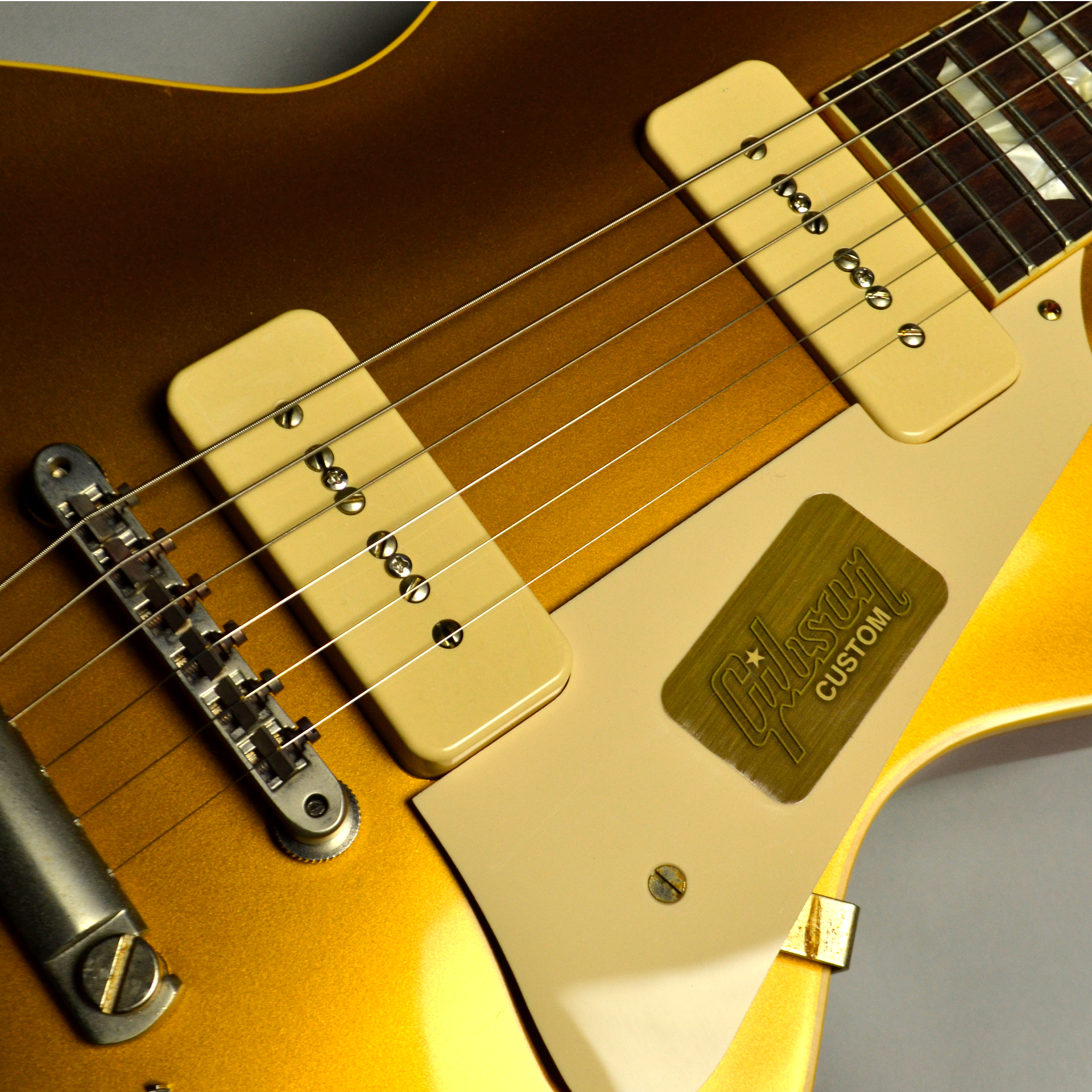 1956 Les Paul Standard Reissue VOS PSL Antique Goldの全体画像(縦)