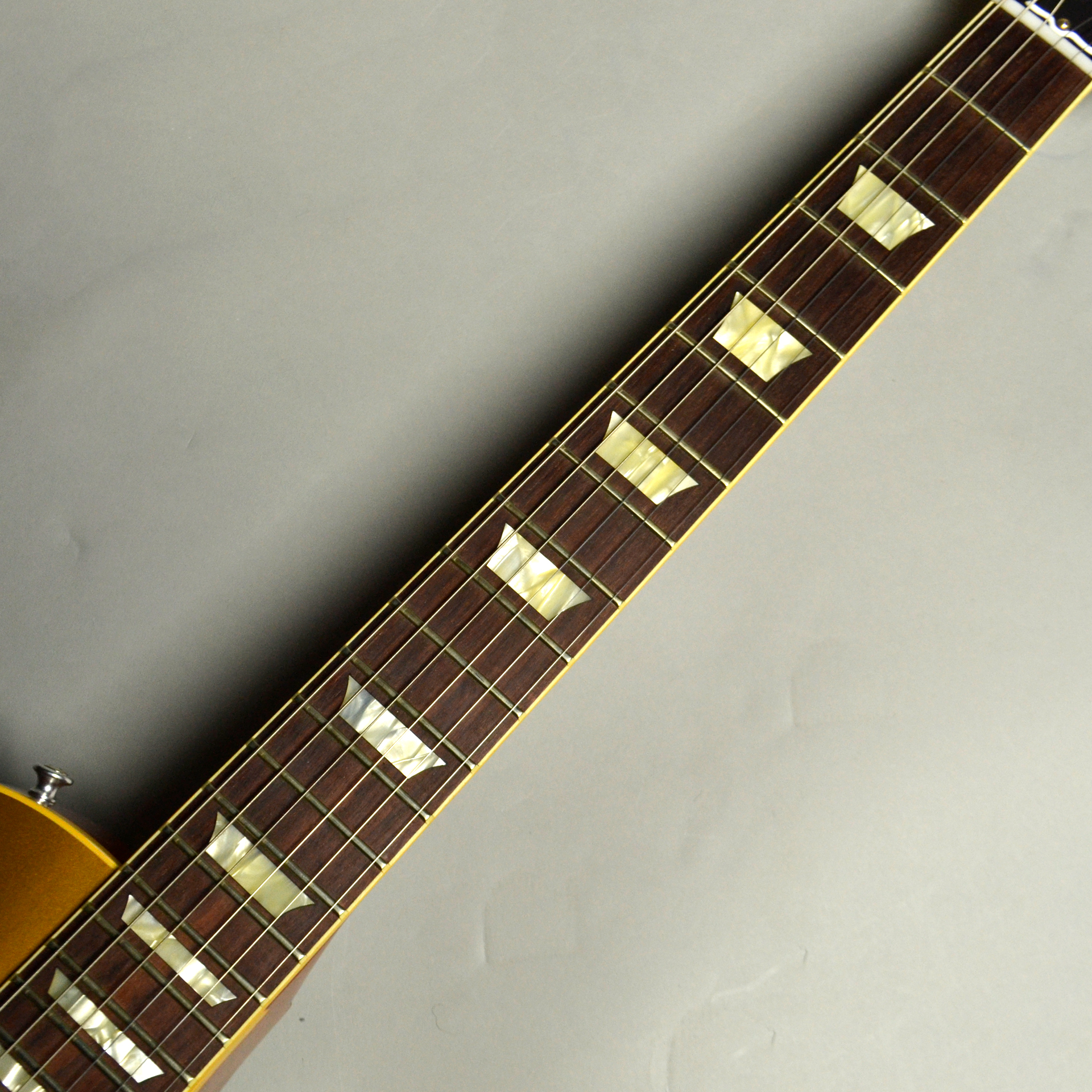 1956 Les Paul Standard Reissue VOS PSL Antique Goldの指板画像