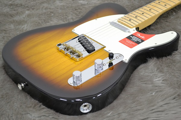 American Professional Telecaster Maple Fingerboardのボディトップ-アップ画像
