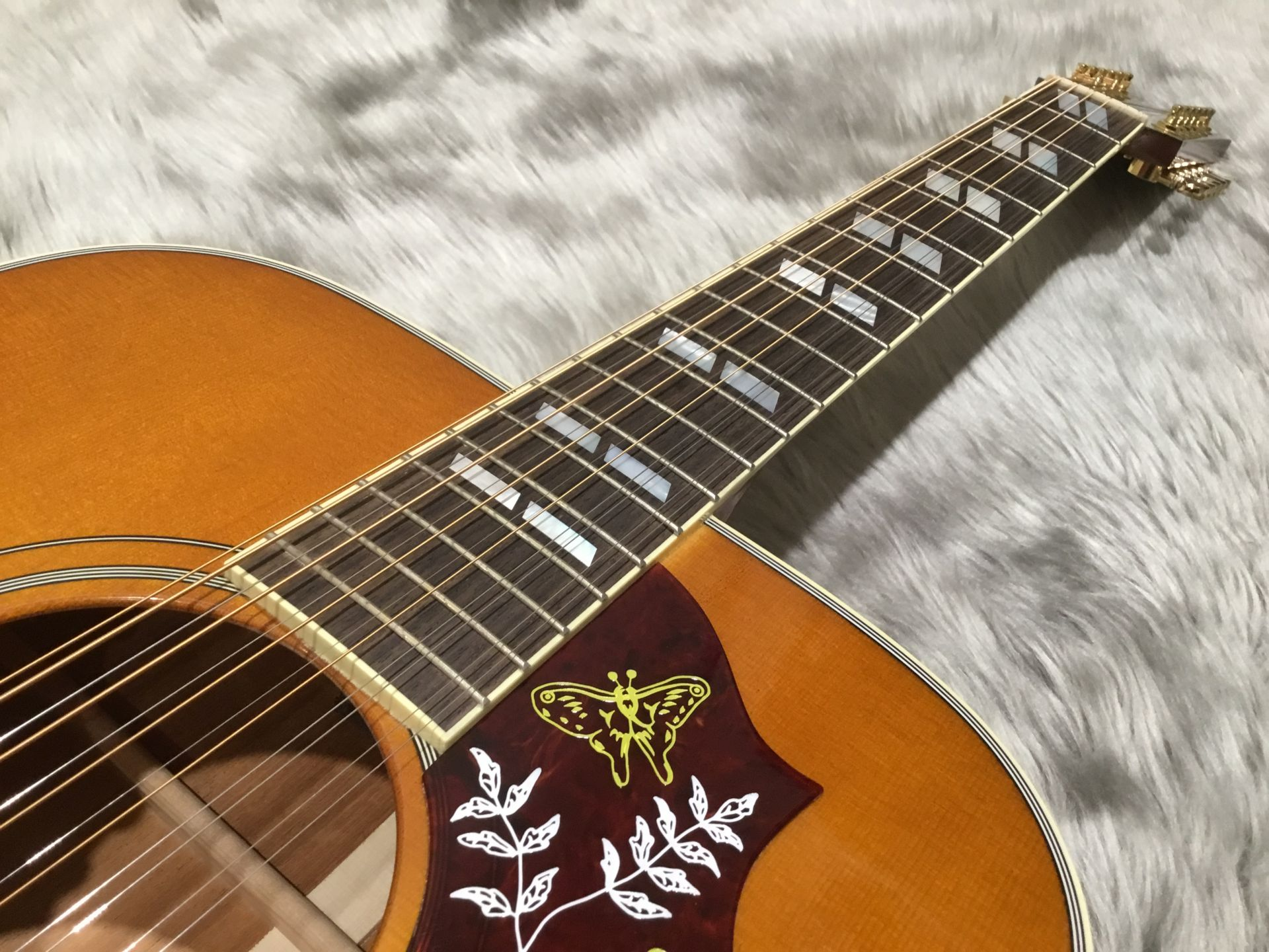 HUMMINGBIRD 12STRINGの指板画像