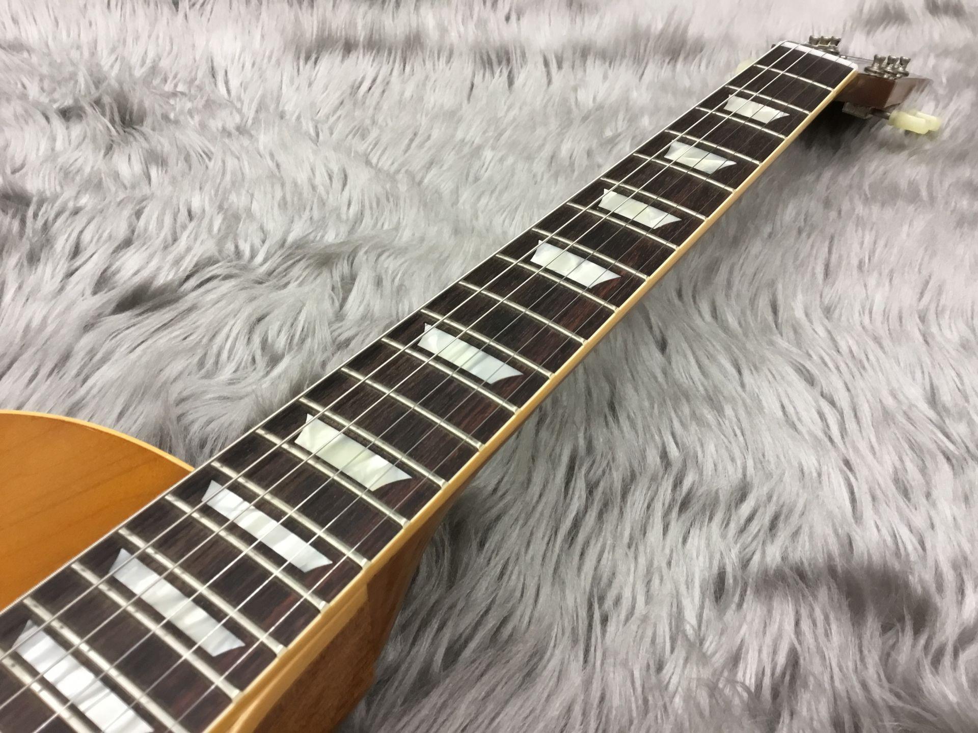 2017 Limited Run 1958 Les Paul Model Hard Rock Maple VOSのボディバック-アップ画像