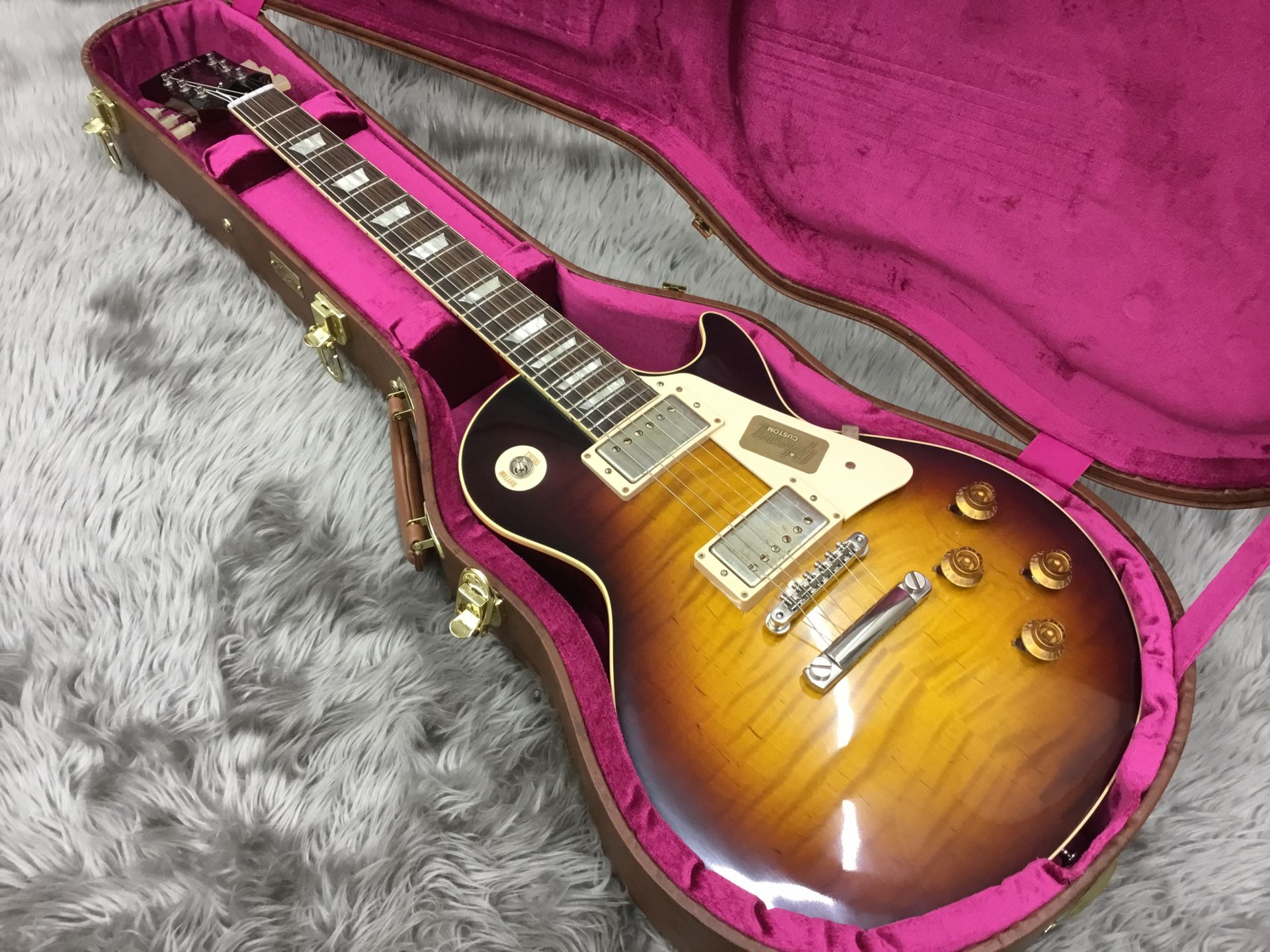 Standard Historic 1959 Les Paul Standard VOSの指板画像