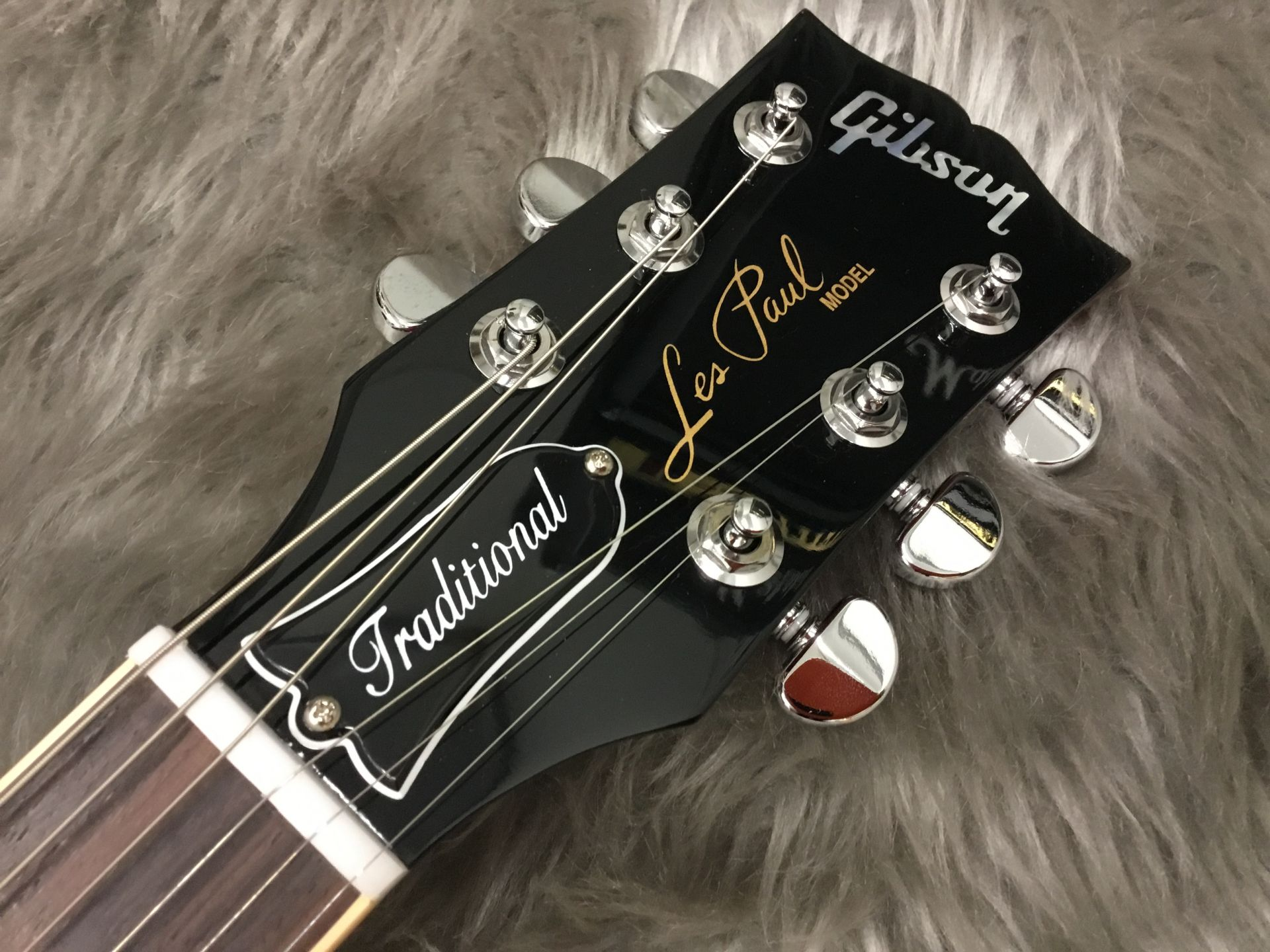 Les Paul Traditional Pro Plus 2017 Limitedのヘッド画像